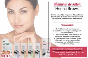 Henna Brows - Glance Henna wenkbrauwen